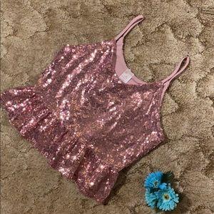 Bubble gum pink sequins!